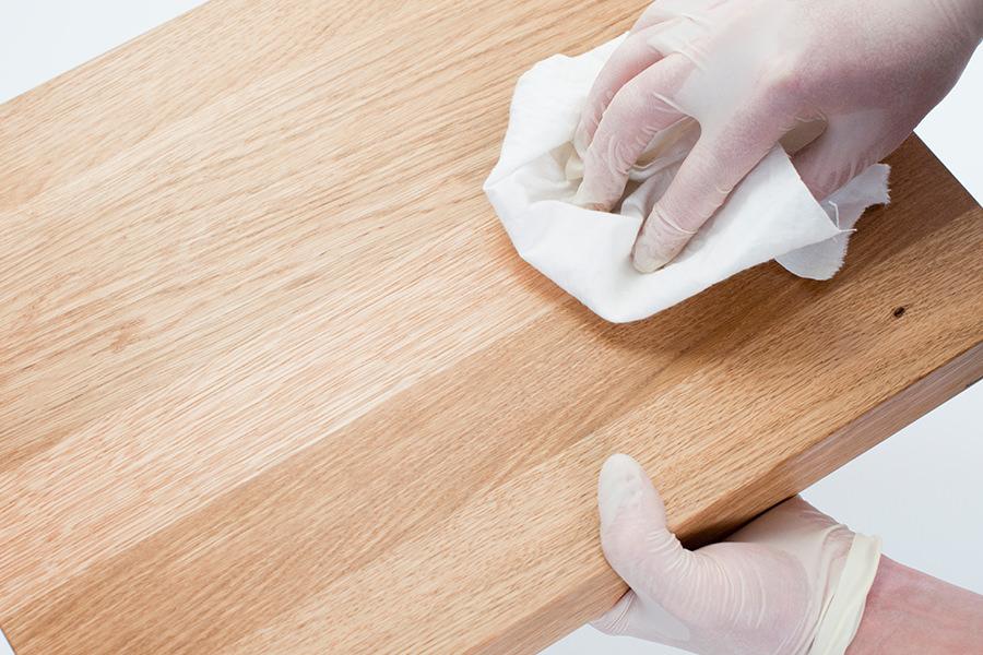 Holzpflegeanleitung
